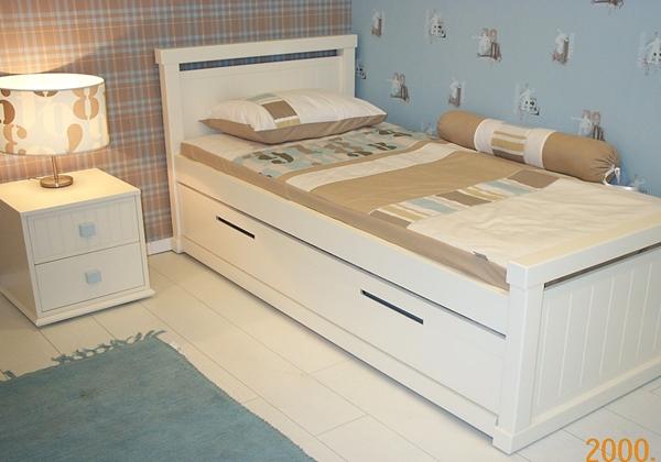מדהים מיטות נוער - מיטה וחצי מעץ מלא - גזע עץ OV-37