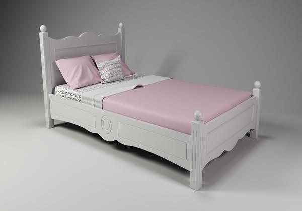 סופר מיטות נוער - מיטה וחצי מעץ מלא - גזע עץ GL-81