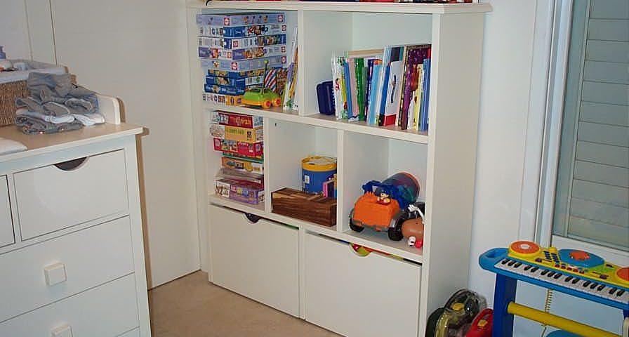 ספריות לחדרי ילדים