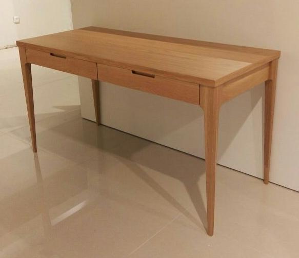 שולחן מעץ אלון 1
